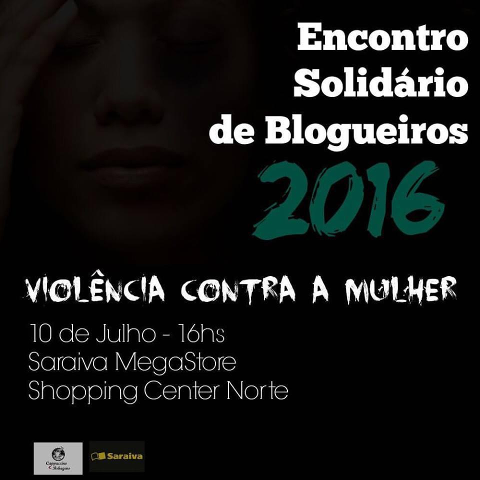 encontro solidário de blogueiros 2016 violência contra a mulher
